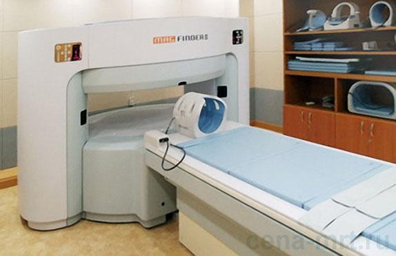 МРТ шейного отдела позвоночника на томографе AILab Magfinder II