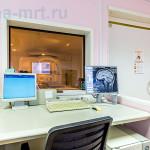 МРТ 24 на Юго-Западной — Пульт управления томографом